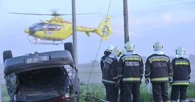 Súlyos baleset történt Mórahalom közelében