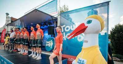 A rajt előtt Siófokon mutatkoztak be a Tour de Hongrie résztvevői