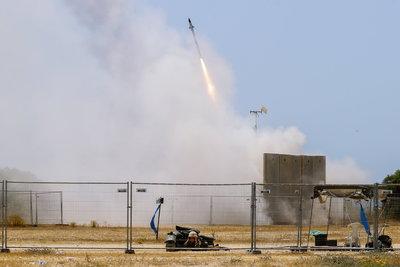 Így védi meg Izraelt a Vaskupola-rendszer a palesztin bombáktól - videó