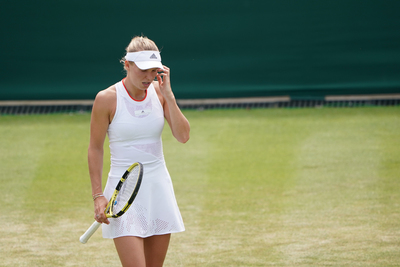 Elképesztően gyönyörű a 8 hónapos terhes híres teniszezőnő - Fotó