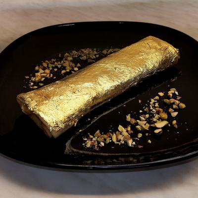 Elkészült Magyarország legdrágább, 24 karátos aranyba csomagolt palacsintája