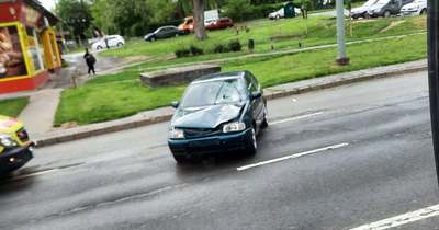 Gyalogost gázolt el egy autó a Komlói úton