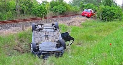 Két autó ütközött Tiszaalpárnál, a balesetben egy gyermek megsérült