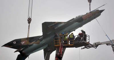 Forgalomkorlátozásra kell számítani a kecskeméti MiG-21 emlékmű környékén