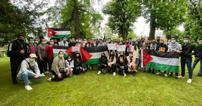 Nem tüntethetnek a magyarországi palesztinok