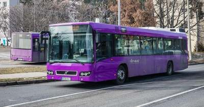 Változik a veszprémi helyijárat buszok útvonala pénteken