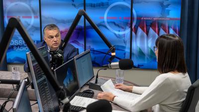 Orbán Viktor: A bajban nem lehet számítani a baloldalra