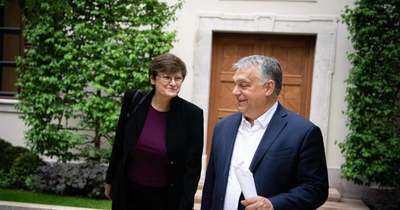 A disznósajt is szóba került Orbán Viktor és Karikó Katalin találkozóján