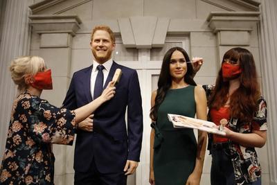 A Tussauds panoptikum áthelyezte Harry és Meghan viaszfiguráját