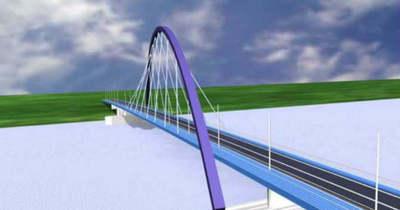 Startol a váci Duna-híd