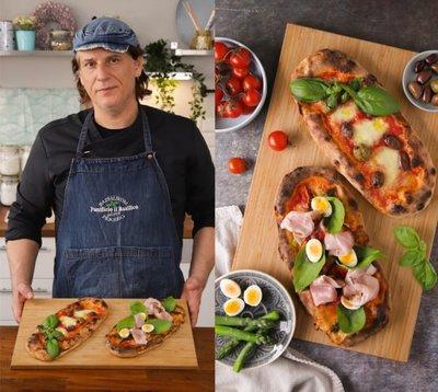Péksuli Szabival: itt a pizzatészta alaprecept, amire régóta vártok!