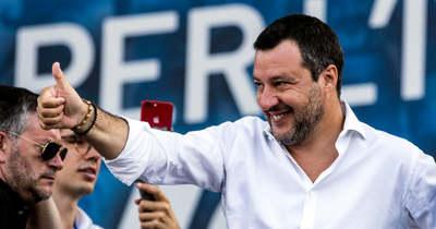Ártatlan Matteo Salvini, nem emeltek ellene vádat