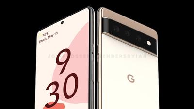 Radikális dizájnnal jöhet a Google Pixel 6