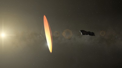 A Harvard professzora állítja: amit aszteroidának hittek, az valójában egy ufó - Fotó