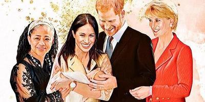 Szívszaggató fotók: ilyen lenne a király család, ha Diana még mindig élne – Galéria