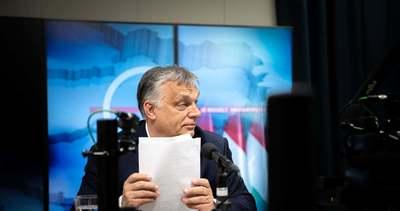 """Orbán Viktor: """"Elértük azt a szintet, ahol a válság előtt voltunk"""""""