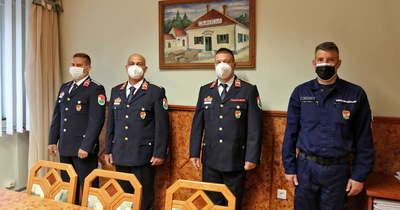 Sárvári tűzoltók áldozatos munkáját ismerték el