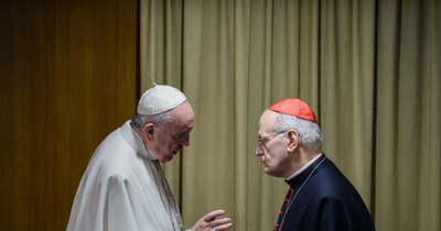 A Vatikánban járt Erdő Péter bíboros