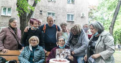 Egykori tanítványai ünnepelték születésnapján Györgyi nénit