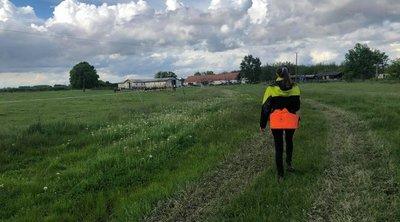 Mentőkutyások bukkantak az eltűnt, mentálisan sérült férfire egy tanyán