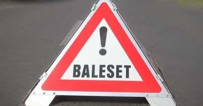 Árokba csapódott egy autó a 76-oson Zalaegerszegnél