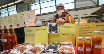 Slágernek számít az immunerősítő a veszprémi piacon