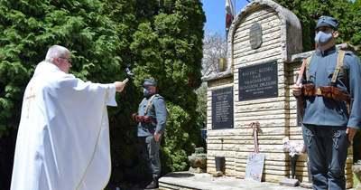 Emléktáblát avattak Rigyácon az első világháború hősének tiszteletére