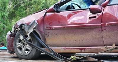 Lezuhant egy autó az M1-es autópályáról Győrnél