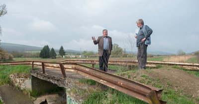 Új hídon kelhetünk át a romhányi patak felett