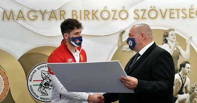 Németh Szilárd köszöntötte az olimpikon birkózókat