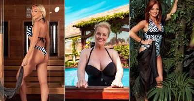 A kor nem számít! Bikiniben vadítanak az ötven fölötti magyar sztárok