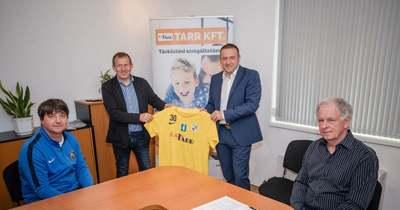 Újabb két évvel hosszabbított a Tarr Andráshida SC és a Tarr Kft.