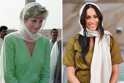 Ez a legfőbb különbség Meghan Markle és Diana hercegnő között