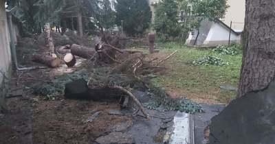 Tornádó pusztított megyénk szomszédságában
