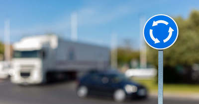 Körforgalom építés miatt változik a forgalmi rend a 71-es út keszthelyi szakaszán