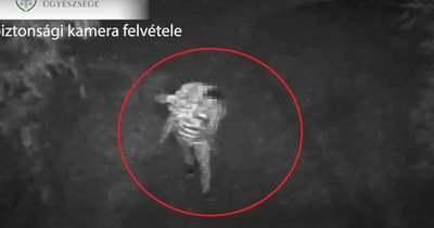 Biztonsági kamera buktatta le a tatai krumplitolvajt, aki egy autót is szétvert dühében