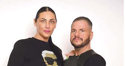 Rá sem lehet ismerni: karcsú modell lett Emilio felesége