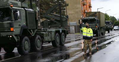 Újra sok lehet a katonai jármű a megye útjain