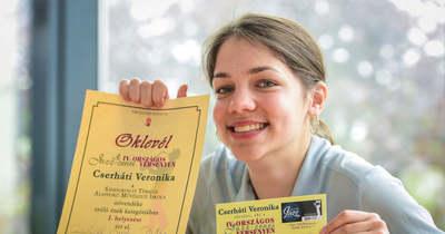 Országos jazzversenyt nyert a sándorfalvi Cserháti Veronika