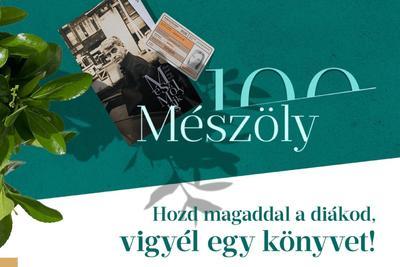 10 000 ajándék Mészöly-kötet diákoknak a Libritől