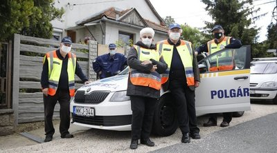 Felszámolták a bűnözést a nyugdíjas polgárőrök