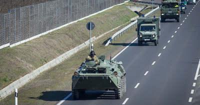 Ne lepődj meg, ha katonai konvojt látsz az M43-ason