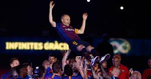 Képek: Adiós, Andrés! Iniesta utolsó percei a Camp Nouban