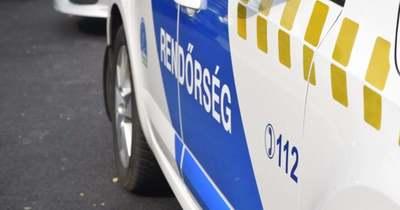 Két autó összeütközött Kunszentmártonnál