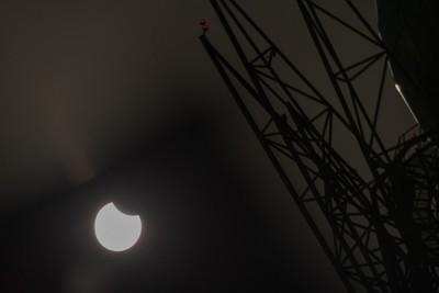 Látványos videót készített a napfogyatkozásról egy magyar csillagfotós