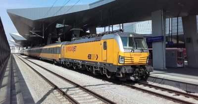 Június 13-ától újraindul a RegioJet Budapest–Bécs–Prága vonata