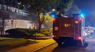 Pokoli katlan: teljes terjedelmében égett egy üzlethelyiség a budapesti társasház földszintjén
