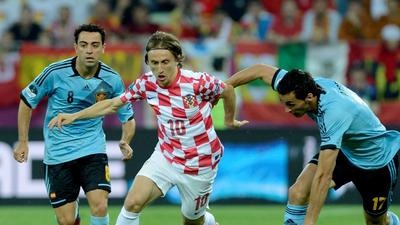 Luka Modric: Leszögezhetem, hogy nem fogunk térdelni