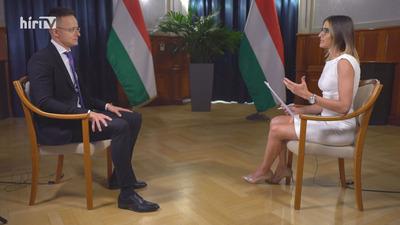 Európai híradó: Exkluzív interjú Szijjártó Péterrel!