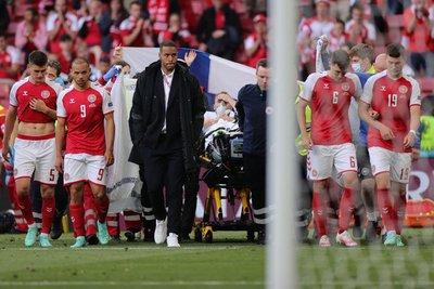 Friss hírek érkeztek a dán labdarúgó állapotáról